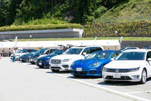 岐阜県高山市で開催した試乗会の様子